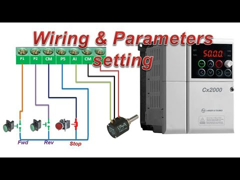 L T Drive Parameter Setting 3 Wire Wiring Potentiometer Hindi Youtube