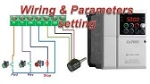 How To Install L T Ac Drive 3 Wire Connection How To Factory Setting 3 Wire Connection Diagram Youtube