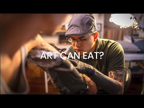 Carving a living with tattoos | Art Can Eat? Episode 3 - Ian Damien
