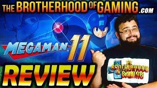 MEGA MAN 11 - REVIEW - Better than Mighty No.9 - The Brotherhood of Gaming