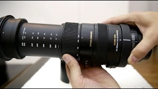 Sigma 50-500mm f 4 5-6 3 OS HSM lens review with samples APS-C and full-frame