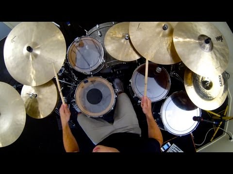 Meshuggah - Koloss Album Medley Drum Cover by Troy Wright