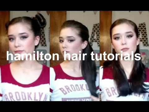 Hamilton Hair Tutorials