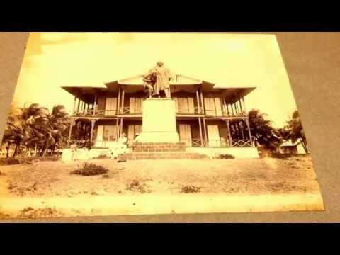 History Panama Canal - Colon Photos Railroad Office