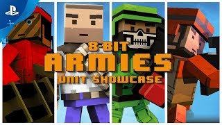 8-Bit Armies – Unit Showcase | PS4