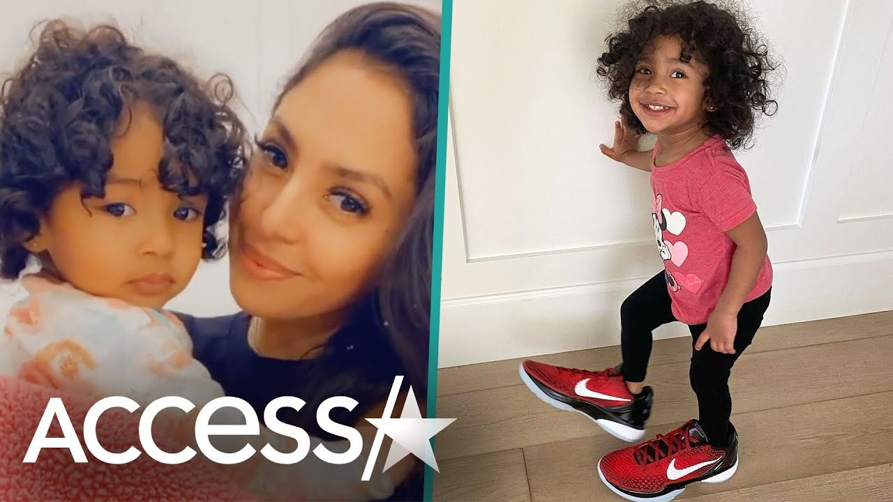 Vanessa Bryant's Daughter Capri Wears Mom's Kobe Sneakers