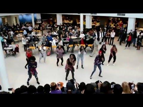 Afrique Fusion flash mob