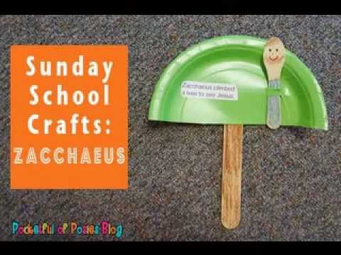 DIY Sunday school craft projects ideas