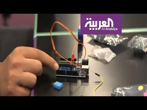تعاون بين لاجئ سوري وأردنية لتطوير جهاز ذكي يفيد اللاجئين  - 08:53-2019 / 6 / 19
