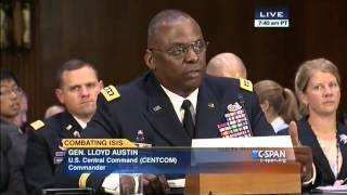 Gen. Austin: Only four or five U.S.-trained rebel fighters remain in Syria