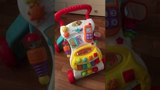 Come on.Видео обзор на детскую каталка-ходунки BabyGO. Детские развивающие игрушки от 6 месяцев.