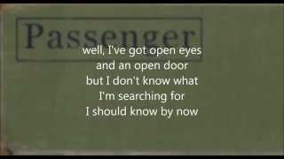 Passenger - Whispers (lyrics on screen) (studio version)