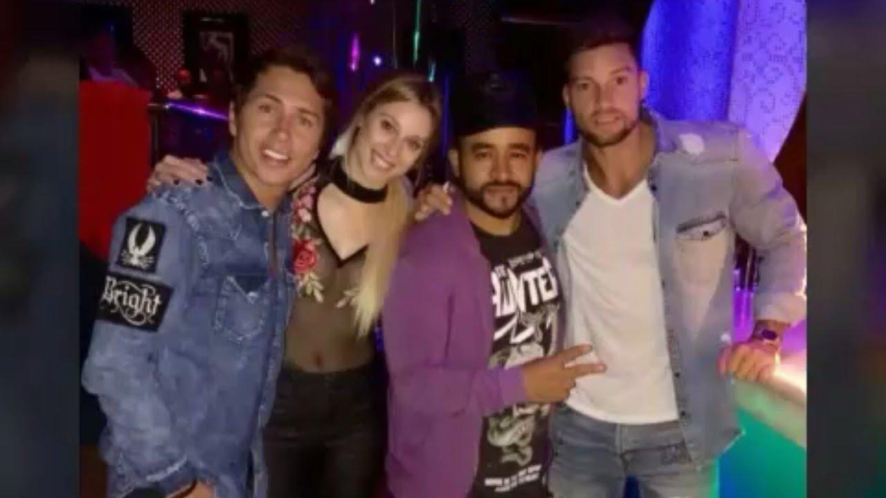 Luis Mateucci Gemma Y Karol De Fiesta Las Locuras De Camila