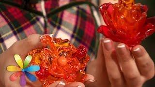 Делаем брошку-цветок из пластиковых ложек - Все буде добре - Выпуск 603 - 20.05.15