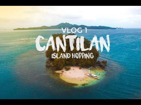CANTILAN ISLAND HOPPING   VLOG 1