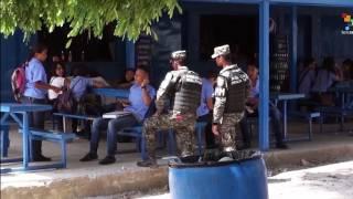 Inseguridad en centros educativos pone en evidencia la poca presencia policial y militar