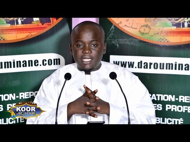 Émission Koor ak Woor présentée par Serigne Galass Bamba mbacke (N3)