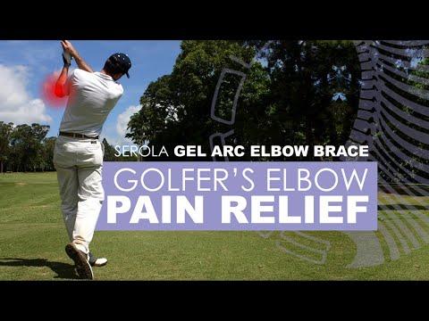 0441a1b1b9 Serola Gel Arc Elbow Brace: Medial Epicondylitis (Golfer's Elbow) - YouTube