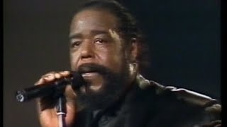 Barry White - Live at Flanders Expo, Belgium (1990)
