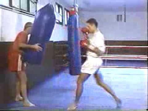 Rob Kaman   Muay Thai Kickboxing Techniques Vol 1   Bag Training