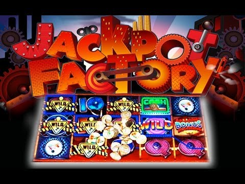 Jackpot Factory - MAX BET! - MYSTERY WILDS FEATURE - Slot ...