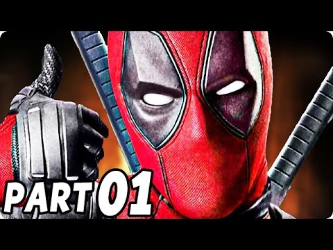 Lets Play Deadpool PS4 Gameplay German Deutsch Walkthrough