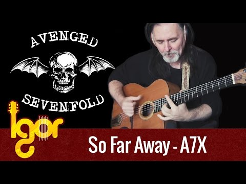Sо Far Awаy  - acoustic fingerstyle guitar