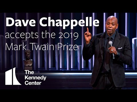 DJ MoonDawg - Dave Chappelle's Mark Twain award acceptance speech is incredible.
