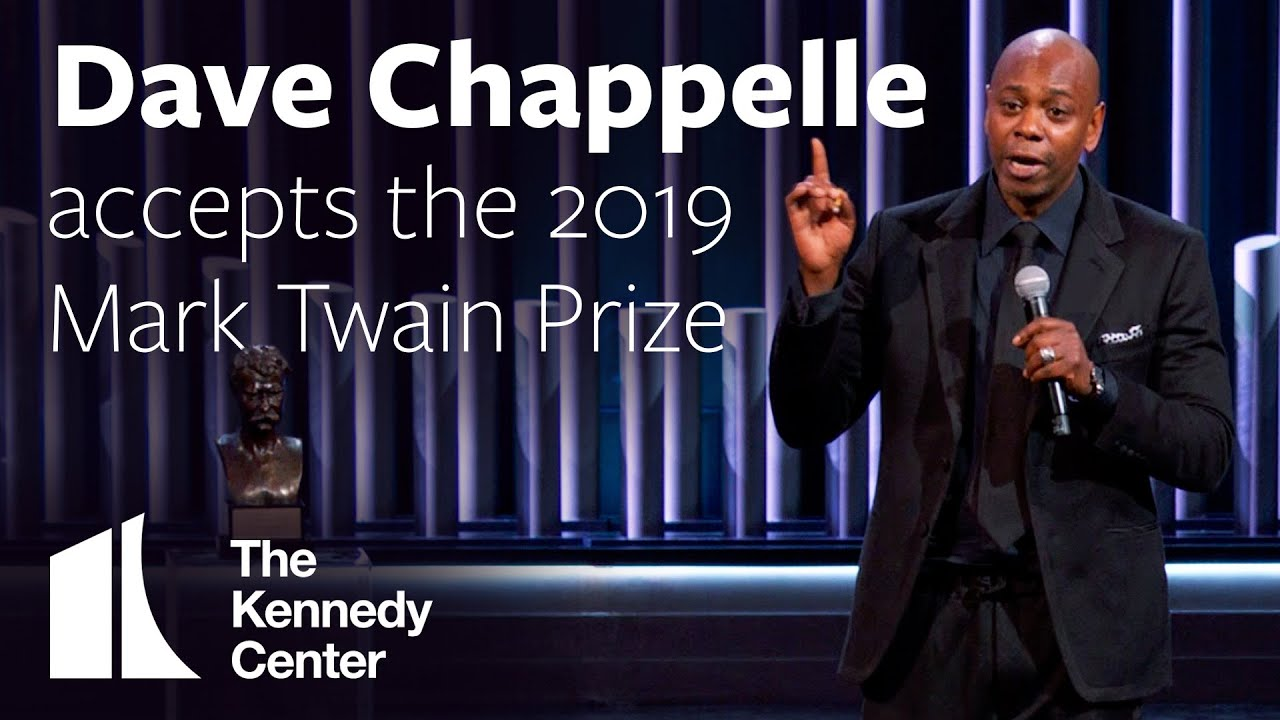 Dave Chappelle | 2019 Mark Twain Prize | Speech