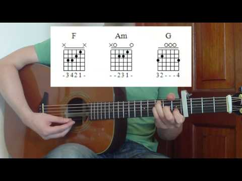 Red Guitar Lesson - Taylor Swift