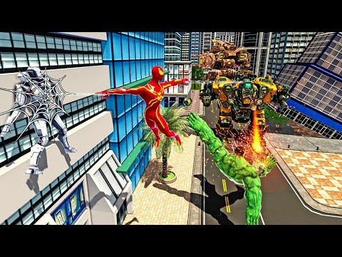 Galaxy Warrior Heroes vs Robot: Vegas City