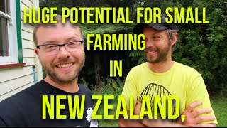 Interviews & Insights -- Huge potential for small farming in New Zealand - JM Fortier