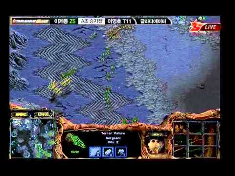 ODT2011-1  Jaedong vs Flash 2011-06-22  @ Gladiator