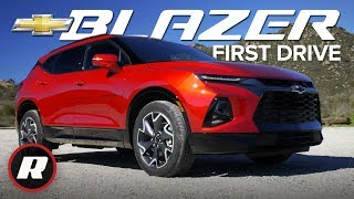 2019 Chevrolet Blazer matches sharp looks with smart tech | Review