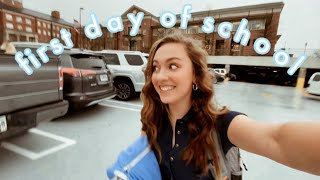 first day of college vlog! university of georgia