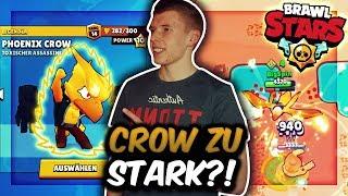 CROW VIEL ZU STARK?! | GEGNER SIND ÜBERFORDERT IM SHOWDOWN! | Brawl Stars Deutsch