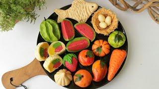 গায়ে হলুদের ডালা সাজানোর ১৩ রকমের সন্দেশ/সন্দেশ রেসিপি/মিষ্টি রেসিপি/Sondesh Recipe/Sweet Recipe