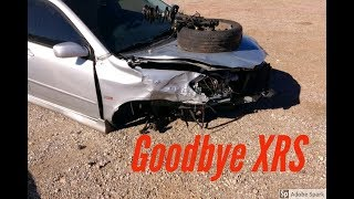 Totalled the XRS
