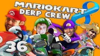 THE COCKROACH (Mario Kart 8 w/ Derp Crew)