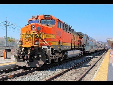 [HD] BNSF AC4400CWs on Metrolink Trains Galore!!!