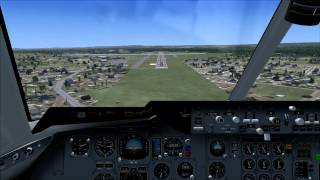 HD FSX FedEx DC-10 Landing at Bradley International Airport