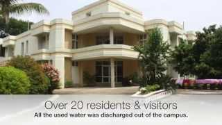 WATER & USED WATER MANAGEMENT | XIDAS & XIM | ECO FRIENDLY CAMPUS |  ECOSOFTT PTE LTD | JULY 2015