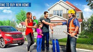 New Family House Builder Happy Family Simulator Gameplay screenshot 5