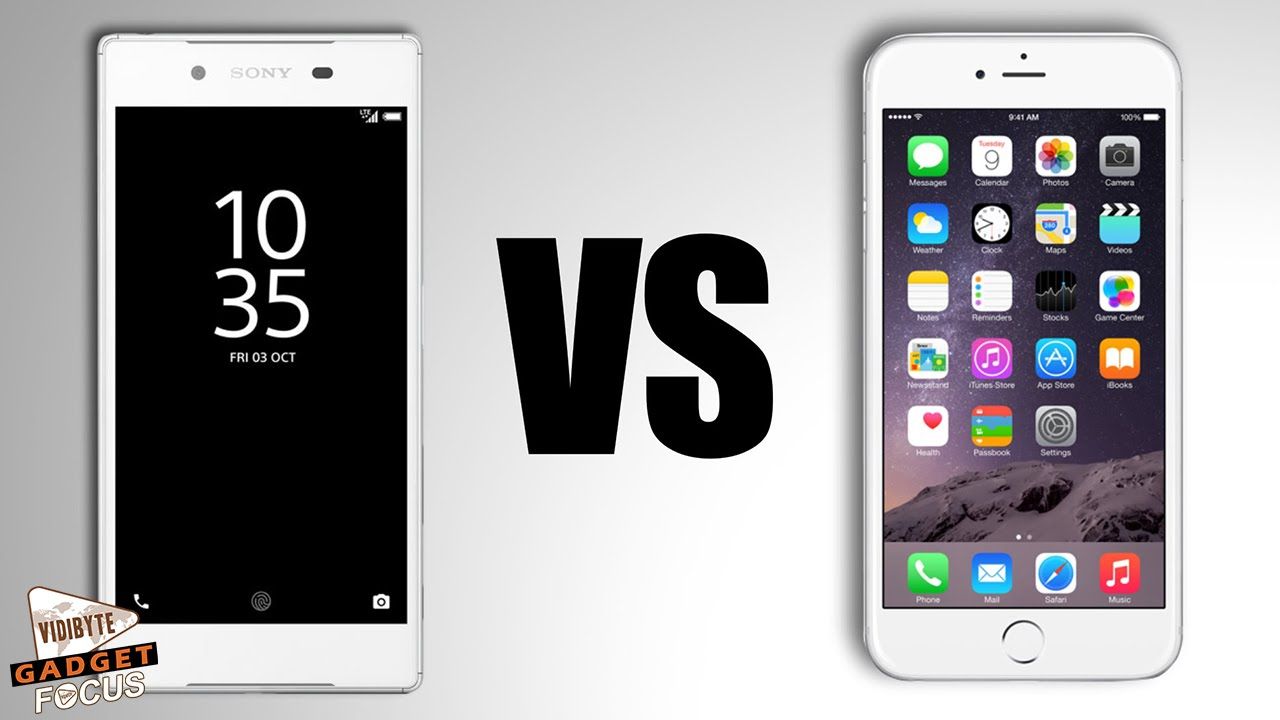 sony xperia z5 compact vs iphone 6s