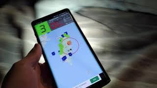 20210418 22:11 M5.8地震(前震) KNY台灣天氣警報接收畫面 & 實際搖晃情形 screenshot 5