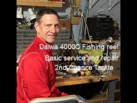Daiwa 4000c Fishing Reel Service And Repair