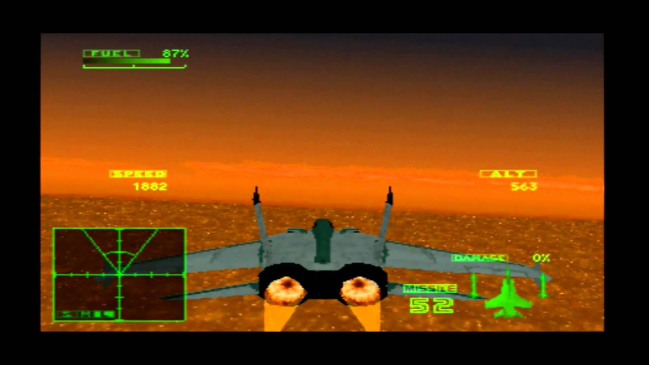 Ace Combat 2seagull With Landing Mig 31 Foxhound 33 French Youtube