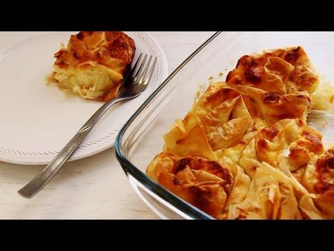 Banitsa Recipe - Bulgarian Food   HappyFoods