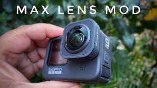 GoPro Hero 9 Max Lens Mod | Demonstration & Sample Footage