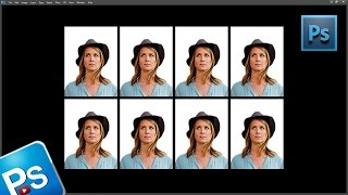 Como fazer foto 3x4 (10x15) utilizando a ferramenta de corte no photoshop | aula photoshop